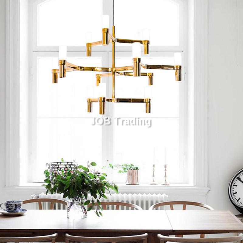 MODERN SIMPLE STYLE CREATIVE ART DESIGN TREE HANGING FOR LIVING ROOM RESTAURANT LED CANDLES CHANDELIERS.